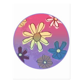 Easter Flower Shine Postcard
