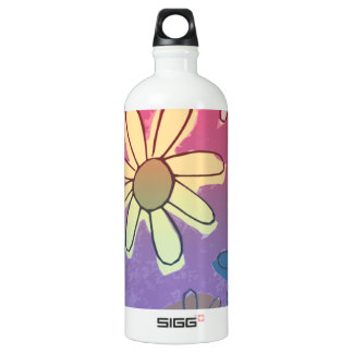 Easter Flower Shine Water Bottle