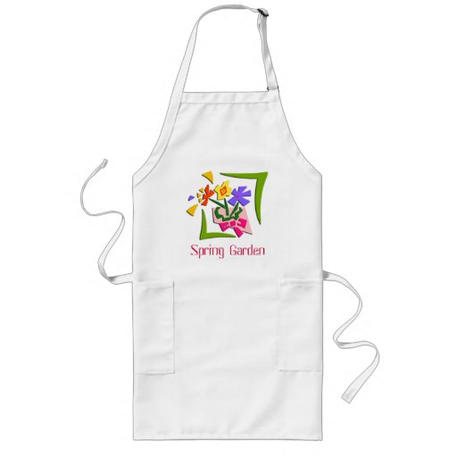 Easter Flowers Apron