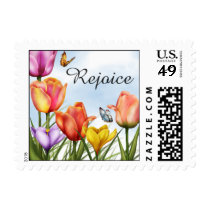 Easter Flowers Postage
