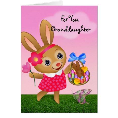 Easter - For Granddaughter Card