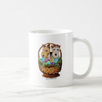Easter Fox Terriers Coffee Mug
