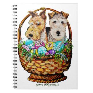 Easter Fox Terriers Notebook