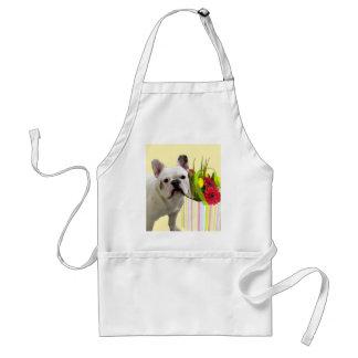Easter French Bulldog apron