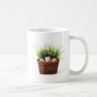 Easter french bulldog puppies coffee mug