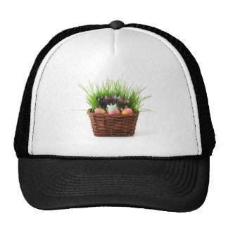 Easter french bulldog puppies trucker hat