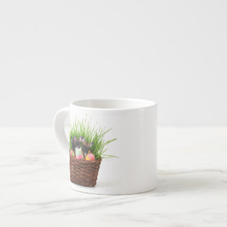 Easter French Bulldogs Espresso Cup
