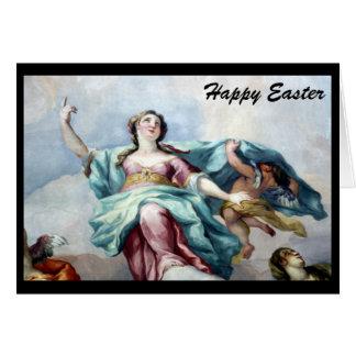 easter fresco greeting card