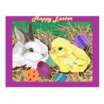 Easter Friends postcard