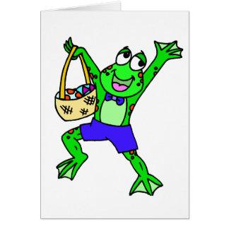 Easter Frog Card
