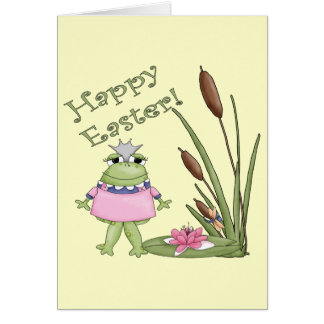 Easter Frog T shirts and Easter Gifts Cards
