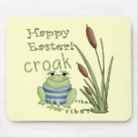 Easter Frog T shirts and Easter Gifts Mouse Pads