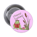 Easter Frog T shirts and Easter Gifts Pin