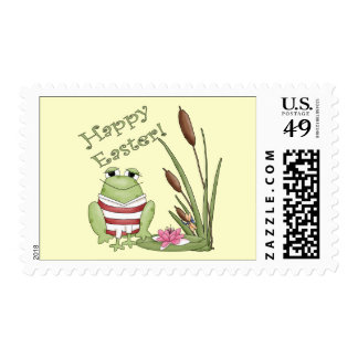 Easter Frog T shirts and Easter Gifts Stamp