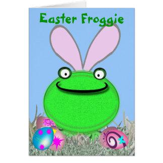 Easter Froggie Card