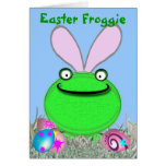 Easter Froggie Greeting Cards