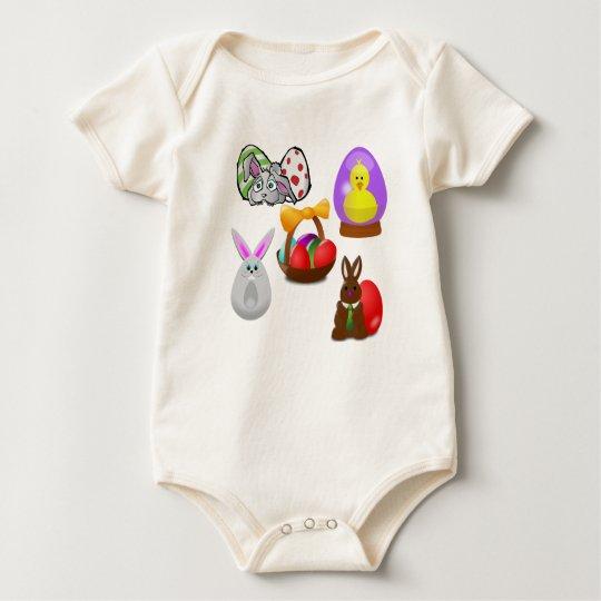 Easter Fun Baby Bodysuit