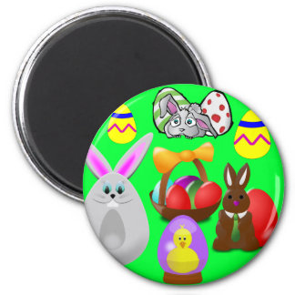 Easter Fun Refrigerator Magnets