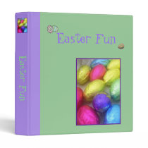 'Easter Fun' Scrapbook/Album Binder