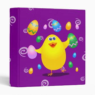 Easter funny chick, binder