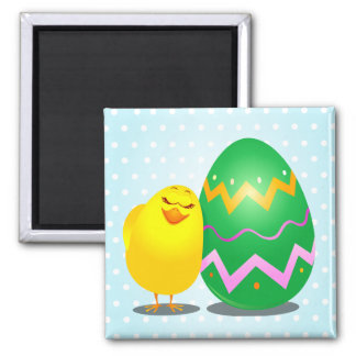 Easter funny chick, magnet