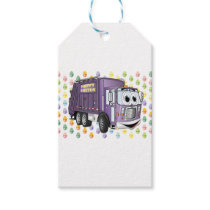 Easter Garbage Truck 3D Gift Tags
