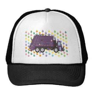 Easter Garbage Truck Trucker Hat