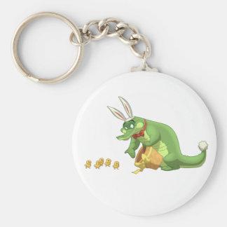Easter Gator Keychain