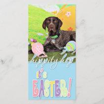 Easter - German Shorthair Pointer - Kaiser Holiday Card