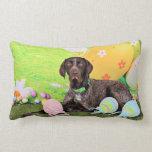 Easter - German Shorthair Pointer - Kaiser Pillow