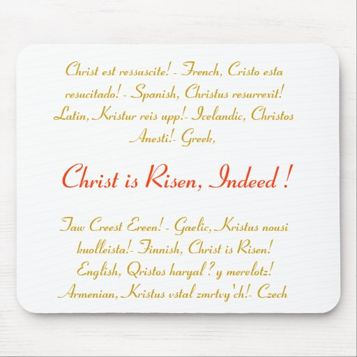 Easter gift idea - Mousepad - Joy unbounded