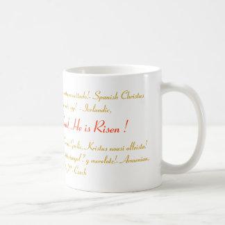 Easter gift idea - mug He is risen - Joy unbounded