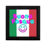Easter Gifts for Italian Speakers : Buona Pasqua Trinket Box