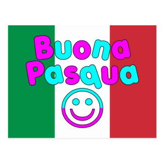 Easter Gifts for Italian Speakers : Buona Pasqua Postcard