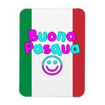 Easter Gifts for Italian Speakers : Buona Pasqua Vinyl Magnet