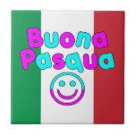 Easter Gifts for Italian Speakers : Buona Pasqua Tile