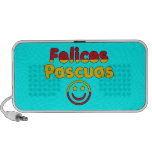 Easter Gifts for Spanish Speakers  Felices Pascuas iPhone Speakers