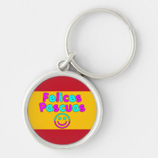 Easter Gifts for Spanish Speakers Felices Pascuas Keychains