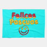 Easter Gifts for Spanish Speakers  Felices Pascuas Hand Towel