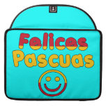 Easter Gifts for Spanish Speakers  Felices Pascuas MacBook Pro Sleeve