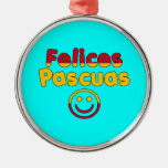 Easter Gifts for Spanish Speakers  Felices Pascuas Ornament
