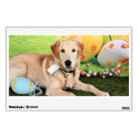 Easter - Golden Retriever - Augie Wall Decal