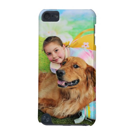 Easter - Golden Retriever - Beam iPod Touch 5G Cases