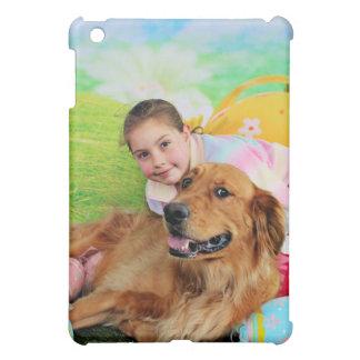 Easter - Golden Retriever - Beam iPad Mini Covers