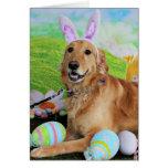 Easter - Golden Retriever - Molly Cards