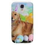 Easter - Golden Retriever - Molly Samsung Galaxy S4 Covers