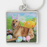 Easter - Golden Retriever - Molly Key Chains