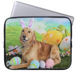 Easter - Golden Retriever - Molly Laptop Computer Sleeve