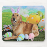 Easter - Golden Retriever - Molly Mouse Pads