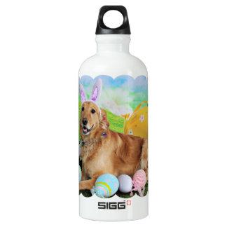 Easter - Golden Retriever - Molly SIGG Traveler 0.6L Water Bottle